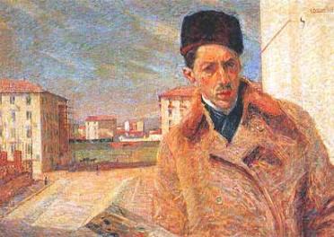 autoritratto - 1908