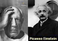 Picasso Einstein