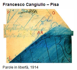 Francesco Cangiulo - Pisa - Tavole Parolibere