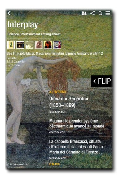 Interplay, la nostra rivista su piattaforma Flipboard
