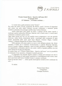 Giuseppe Zaccaria commenta il Premio