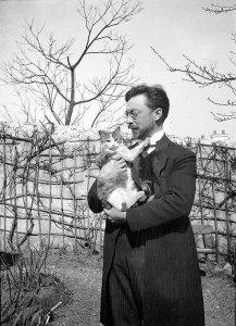 L'artista ed il suo gatto Vaske