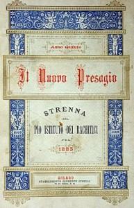 Strenna del Pio Istituto rachitici di Milano - 1883